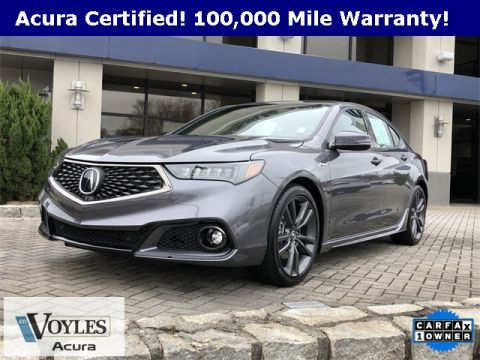 Certified Pre-Owned 2019 Acura TLX 2.4 8-DCT P-AWS with A-SPEC RED