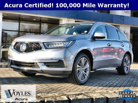 Certified Pre-Owned 2017 Acura MDX with Technology Package