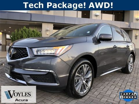 Pre-Owned 2017 Acura MDX 3.5L SH-AWD w/Technology Package