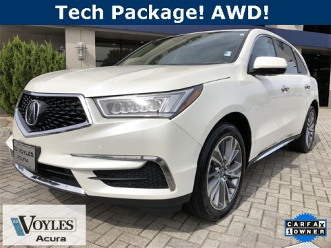 Pre-Owned 2017 Acura MDX 3.5L SH-AWD w. Technology Package